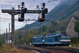 Les BB67307 et BB67309 à Montmélian.
