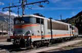 La BB25192 au dépôt de Modane.