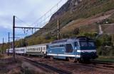 La BB67375 à Montmélian.