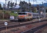La BB22350 à Montmélian.