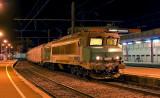 La CC6559 en gare de Chambéry-Challes Les Eaux.