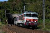 La CC6561 au tunnel de Chamousset, près de Saint-Pierre d'Albigny.
