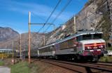 La CC6561 près de Saint-Jean de Maurienne.