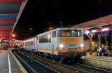 La BB25172 en gare de Chambéry-Challes Les Eaux.