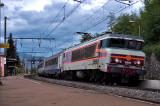 La CC6561 en gare de Montmélian.