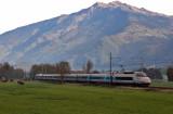 Un TGV Milan-Paris près d'Argentine.
