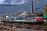 La BB25240 à Saint-Pierre d'Albigny.