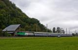 La BB25213 près d'Aiguebelle.