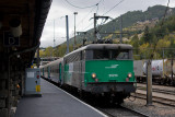 La BB25213 à Modane.