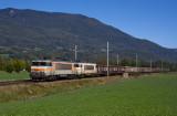 La BB7437 et la BB7418 près d'Argentine.