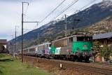 La BB25176 et la BB22310 (en véhicule) au Freney.