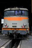 La BB9288 (ex-Capitole) au dépôt de La Mouche, à Lyon.
