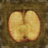 apple halved