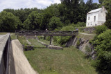 C & O Canal: Dam 5 Lockhouse and Towpath