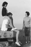 Pascale, Hervé et Colette d'Hubert