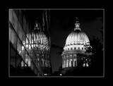 Capitol with reflection, Madison