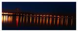 Illinois River at night