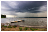 Storm over the river
