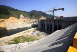 7191 Dam construction 2km downriver.