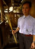 2350 Tall glutinous rice stock. Glutinous rice is the most prized among the Kam people.