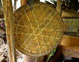 2353 Bottom of a  winnowing basket used for rice and general use.