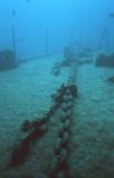 HMAS Brisbane - anchor chain