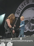 Cute kid with Black Label Society