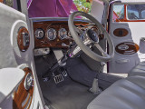 1937 Chevy coup interior