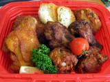 Fried Chicken Xmas Bento