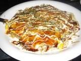 Okonomiyaki - after