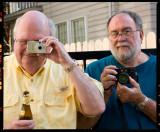 Ken Carney & Sonny Carter (photo by Bob Baron)
