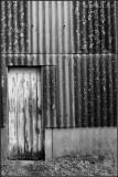 Side door to a Barn