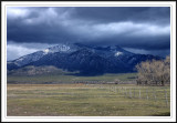 Clouds over Taos Mountains