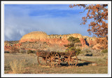 Wagon in Ghost Ranch