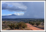 Storm over Flattop Moutain