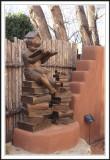 Sculpture on Canyon Road, Santa Fe