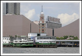 Old Train Terminal in Kowloon and Star Ferry