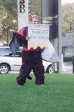 Protestors  Against George Bush and Republicans in Dallas on Nov 6, 2006