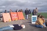 Dec 28, 2006 National Security Council Protest Outside of the Western Whitehouse in Crawford Texas