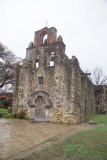 Spanish Missions along the San Antonio River that end with the Alamo in San Antonio