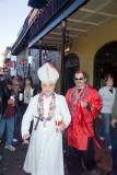 People in Costume Mardi Gras NOLA 2007- Adult Content