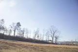 Approaching Purvis Mississippi FEMA Storage Yard next to I-59