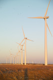 Electric Generating Wind Farms south of Sweetwater to Abilene,Texas