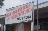 Bonnie and Clyde Museum in the Town that they left before their ambush
