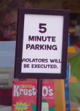 Violators Will be Executed
