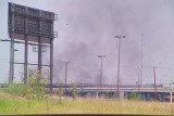 Fire in Distance about 1 mile, location Lamar St south of I-30