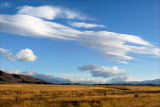 Nor'west clouds over the MacKenzie basin