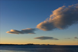 Evening decends over Moeraki Point