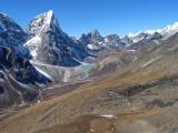 View from Nagartsang Peak
