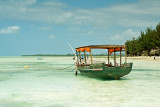Pongwe Beach with Boat